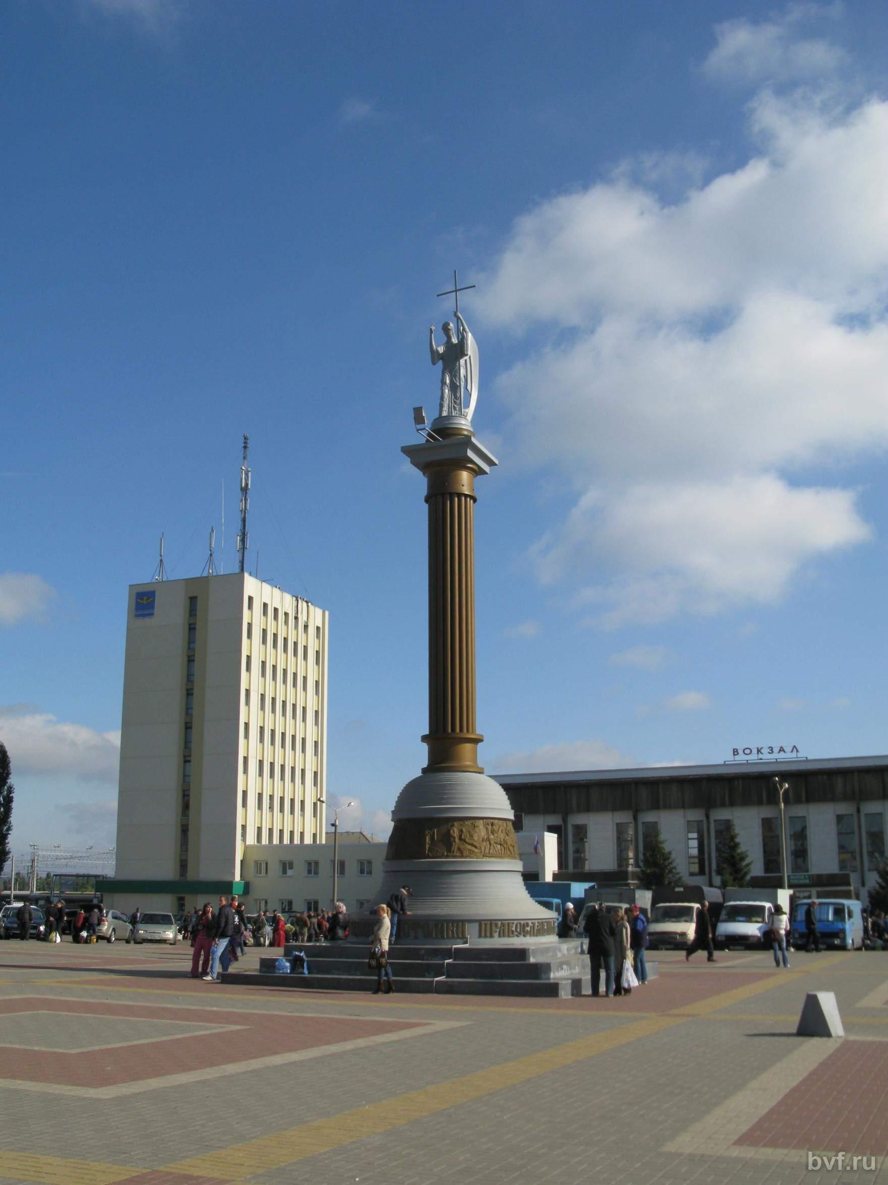 Нажмите на изображение для увеличения Название: Лиски Ангел на вокзальной площади.jpg Просмотров: 22 Размер:221.7 Кб ID:1693509