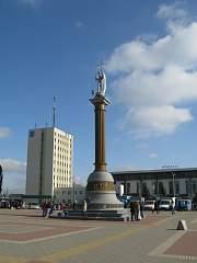 Нажмите на изображение для увеличения Название: Лиски Ангел на вокзальной площади.jpg Просмотров: 29 Размер:221.7 Кб ID:1693509