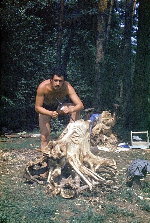 Нажмите на изображение для увеличения Название: Я в 1975 году... Турбаза Иволга Скульптуры для детского парка.jpeg Просмотров: 258 Размер:255.8 Кб ID:2104878