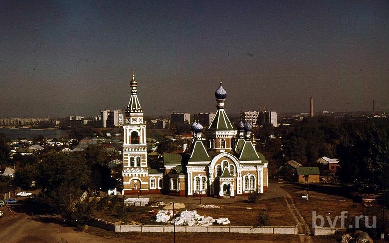 Нажмите на изображение для увеличения Название: Казанская церковь после рестоврации 1989.jpg Просмотров: 21 Размер:71.9 Кб ID:2754917